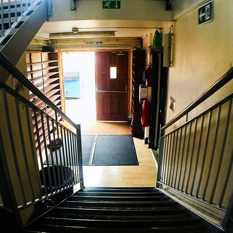 Main Entrance Stairway